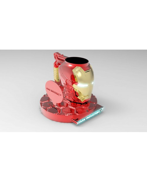 Mug Ironman V2 - 3D Printable Model