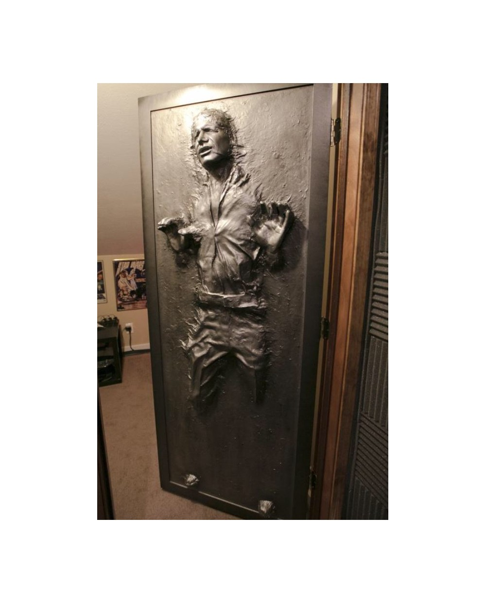Han Solo Carbonite Door