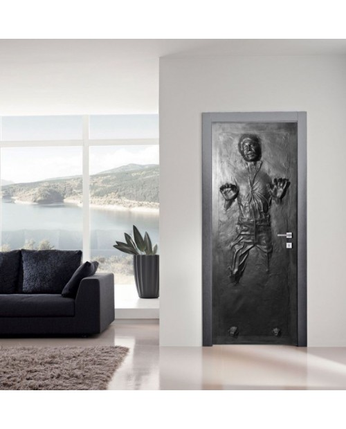 Han Solo Carbonite Door - 3D PRINTABLE MODEL