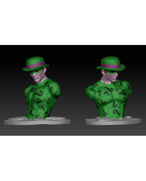 Enigma Bust - 3D Printable Model