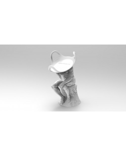 Google Home Mini Stand Pensador - 3D Printable Model